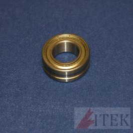 Lower Fuser Roller Bearing - Konica Minolta B600 - Set of 2